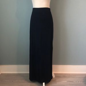The Limited Navy Maxi Skirt